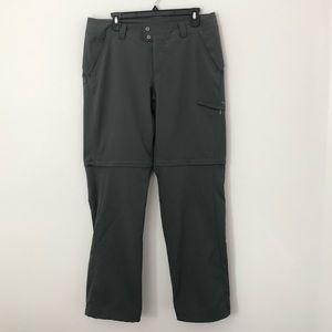 Columbia titanium Omni-shade zip off pants euc